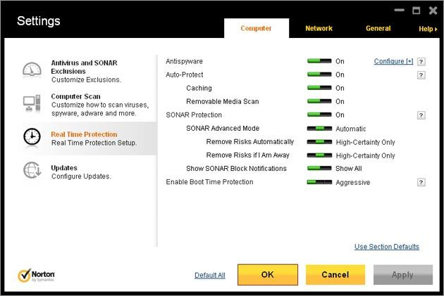 Norton AntiVirus...Norton Power Eraser